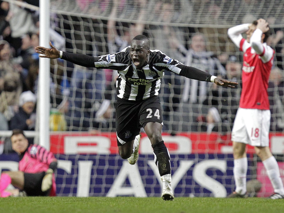 With one swish of his left foot Cheick Tioté was a Newcastle United cult  hero | Football | The Guardian