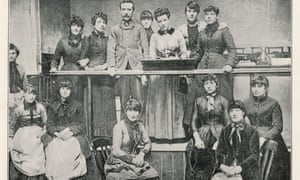 The matchgirls' strike committee, pictured in 1888