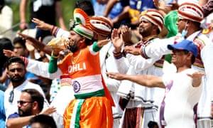 India fans in full flow.