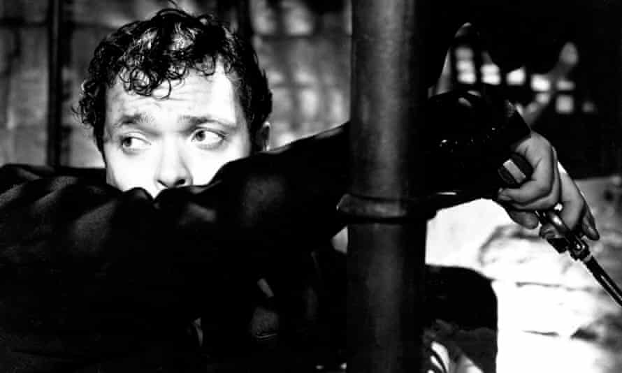 Hubristic monster … Orson Welles as Harry Lime in The Third Man (1949). 'If modern day Hollywood has a Lime figure, it is surely Harvey Weinstein.'