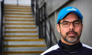Huddersfield Town's manager, David Wagner, at their training ground