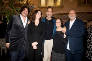 Jay Rayner, Nigella Lawson, Yotam Ottolenghi, Claudia Roden and Allan Jenkins