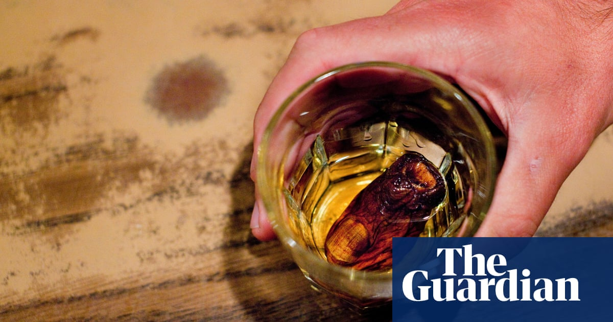 Stiff drink: the cocktail that's made with a frozen human