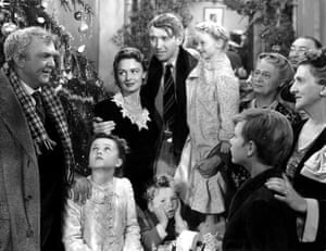 A scene from It's a Wonderful Life.