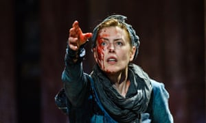 Real authority … Gina McKee in Boudica at Shakespeare's Globe, London.