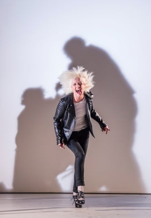 Jane Horrocks as Regan, one of Lear's daughters. The show is a highlight in Matthew Warchus's second season as artistic director at the Old Vic, which includes a revival of Yasmina Reza's Art and a production of Woyzeck starring John Boyega