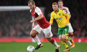Jack Wilshere has started for Arsenal in the Europa League and Carabao Cup and his manager says he is ready for consideration by Gareth Southgate and England.