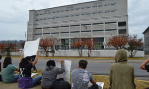 The Etowah Detention Center, an all-male facility housing about 300 detainees.