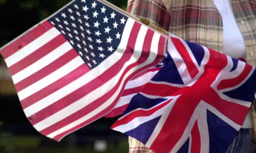 """UK investment in US reportEmbargoed to 0001 Friday August 12 Undated file photo of a US and Uio0n flag. The UK is the single biggest investor in the United States and supports more than one million jobs, according to research underscoring the """"economic special relationship"""" between the two nations. PRESS ASSOCIATION Photo. Issue date: Friday August 12, 2016. The Confederation of British Industry's (CBI) Sterling Assets report found the UK invested 449 billion US dollars (£346 billion) in America at the end of 2014. See PA story CITY US. Photo credit should read: Johnny Green/PA Wire"""