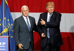 Trump announces Indiana governor Mike Pence as his running mate