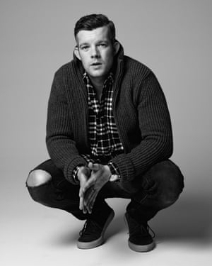 Russell Tovey photographed at Milk Studios, New York