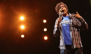Hari Kondabolu, who has made a documentary interrogating the stereotyping around south Asian character Apu in The Simpsons.