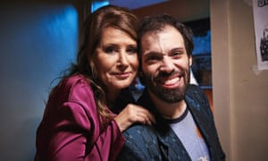 Renkow with Lorraine Bracco in Jerk.