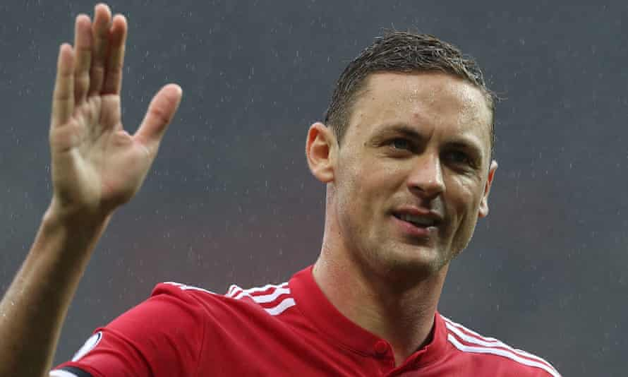 Nemanja Matic, who left Chelsea for Manchester United last summer, says: 'I am happy to be part of this club. I'm happy to be working with Mourinho.'