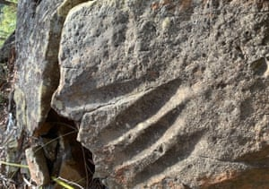 Aboriginal grinding grooves in the Wollondilly