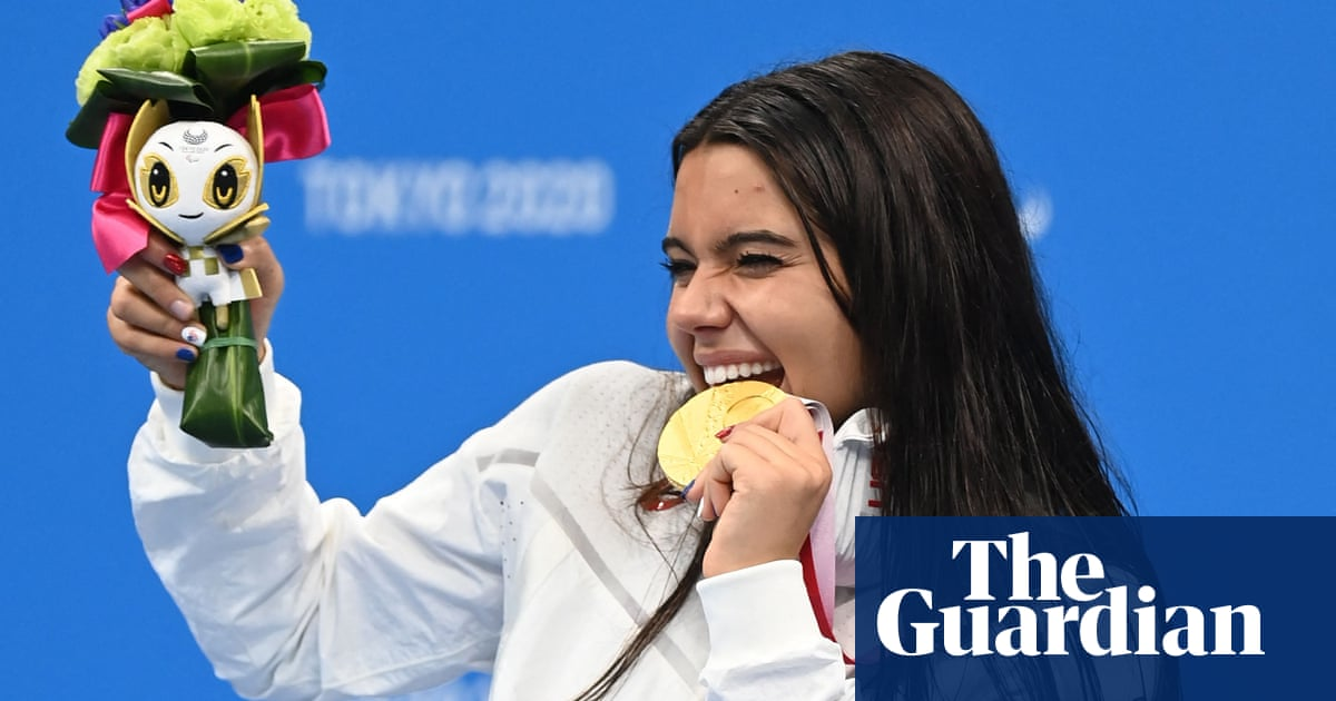 Anastasia Pagonis cheers USA – and her 2m TikTok followers – with Paralympic gold