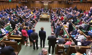MPs in the House of Commons.