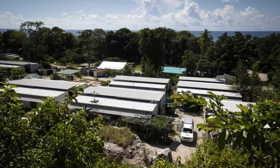 A refugee settlement on Nauru