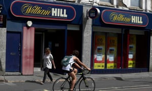 William Hill betting shop in London
