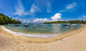 Padangbai Beach - Bali Island Indonesia.