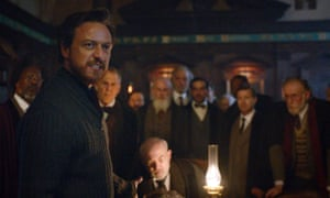 James McAvoy as Lord Asriel in His Dark Materials.