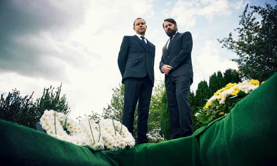 Death becomes them … Mitchell and Webb.