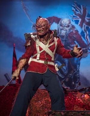 Iron Maiden mascot Eddie.