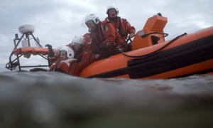 The Southport lifeboat crew