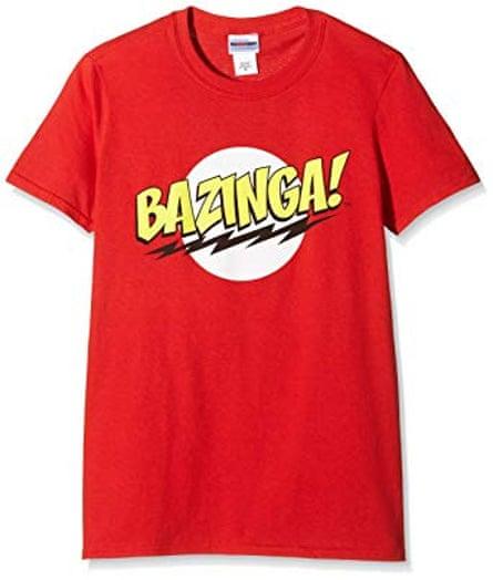 Bazinga T-shirt from Amazon