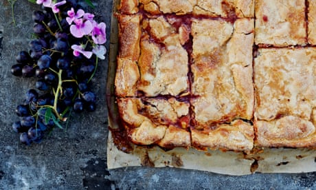 Claire Ptak's recipe for an American-style grape slab pie