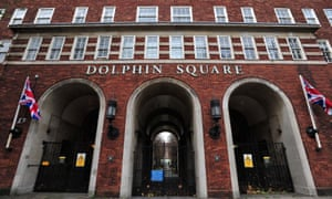 Lord Sewel is alleged to have taken drugs with prostitutes at his flat in Dolphin Square