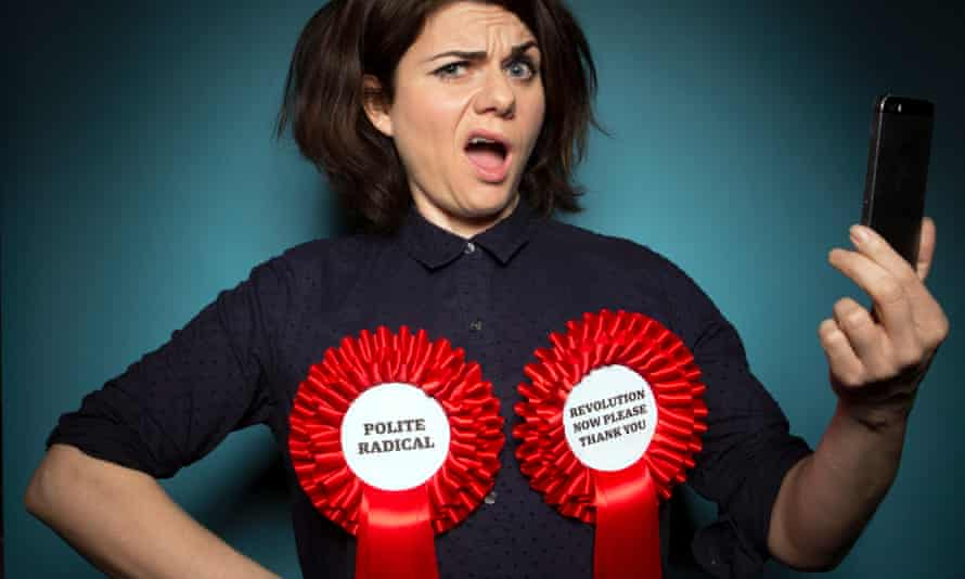 Ranges from enthusiasm to anger … Caitlin Moran.