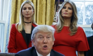 Even before the election, Ivanka was trying to convince us that her father isn't misogynist