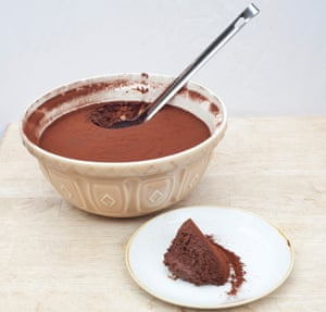 The chocolate mousse: 'the best three minutes you can have in London for a fiver right now'.