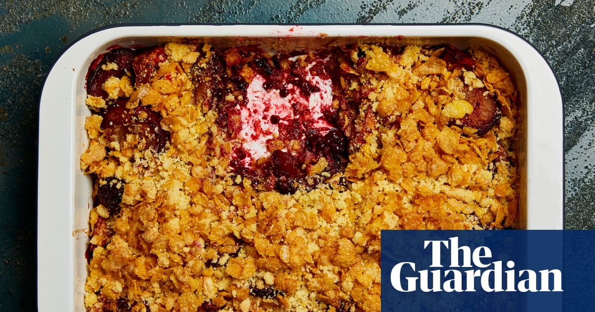 Crunch time: Yotam Ottolenghi's crumble recipes