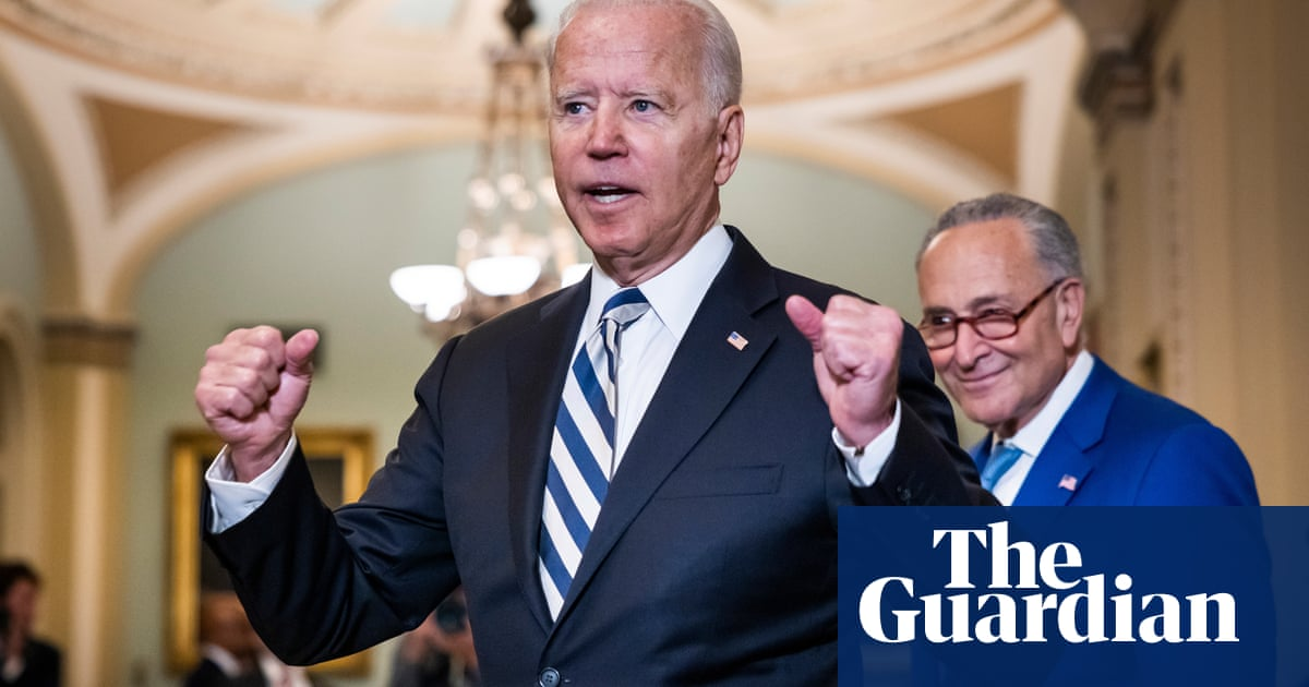 Biden heads to Capitol Hill to boost Democrats' 'human infrastructure' plan