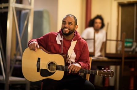 Mitchell Brunings, who plays Bob Marley in One Love.
