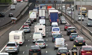 Around 19 million Britons are expected to travel this weekend.