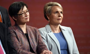 Penny Wong and Tanya Plibersek