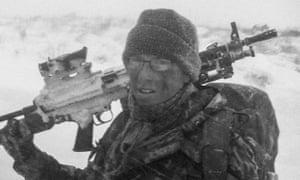 Wayne Sharrocks at 17 in 2006 in the Falklands.