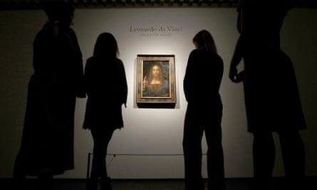 Leonardo da Vinci's Salvator Mundi, which sold for $450m last week.