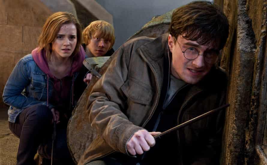 Emma Watson, Rupert Grint and Daniel Radcliffe in Harry Potter and the Deathly Hallows: Part 2. Photo: Jaap Buitendijk/AP/Warner Bros.