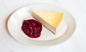 'A pleasing salty, cheesy edge': cheesecake.