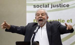 Luiz Inacio Lula da Silva is charged as part of a case against a senator accused of obstructing the Petrobras investigation, according to a report.