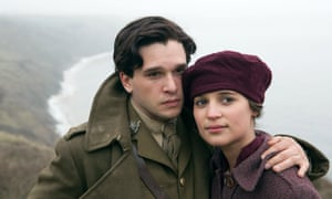 Vikander, with Kit Harrington, as Vera Brittain in Testament of Youth