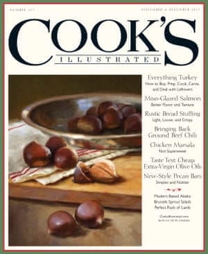 November's Cook's Illustrated cover