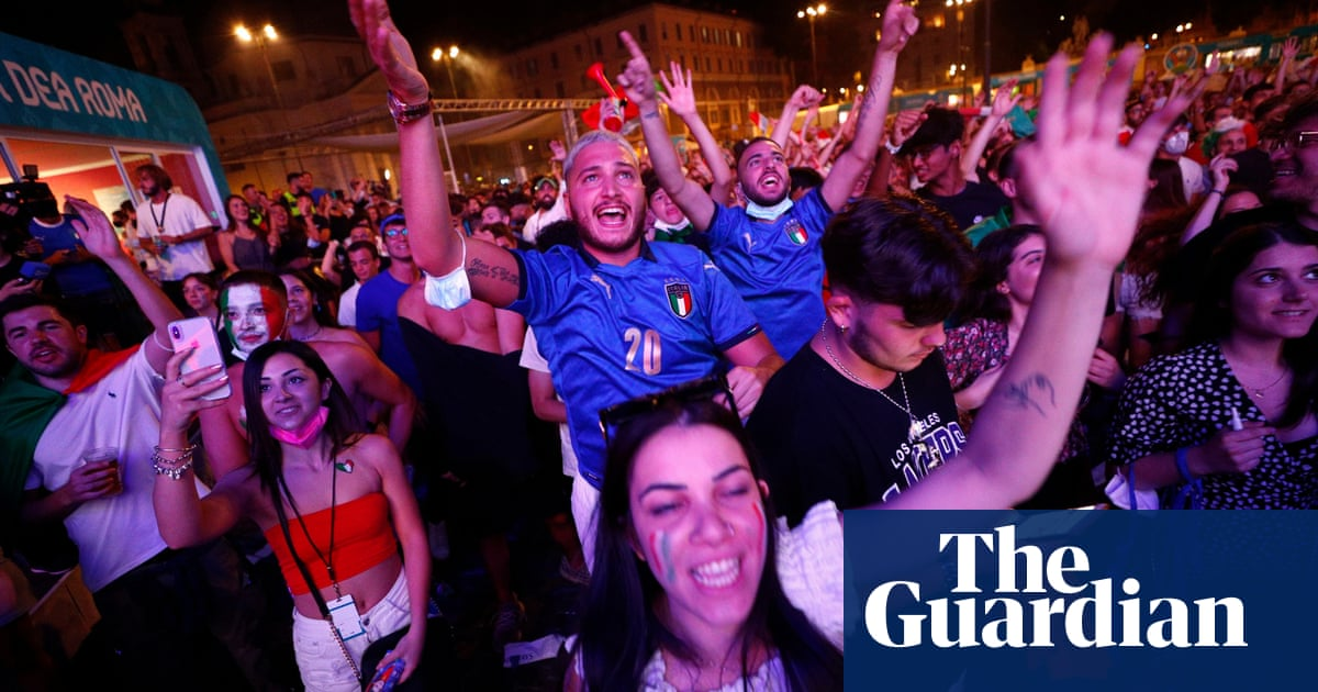 'Mancini has been absolutely wonderful': praise for manager as Rome unites behind Italy