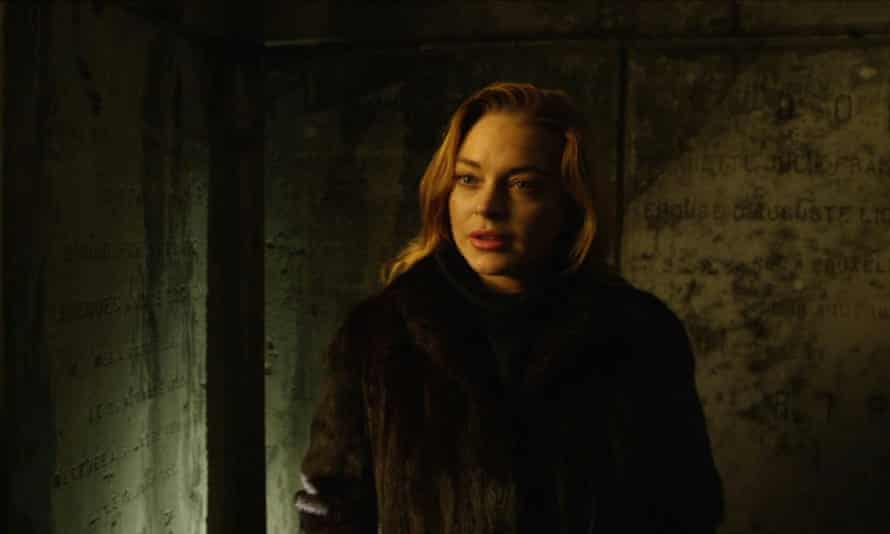 Among The Shadows Get Ready For Lindsay Lohan S Low Budget Werewolf Film Lindsay Lohan The Guardian