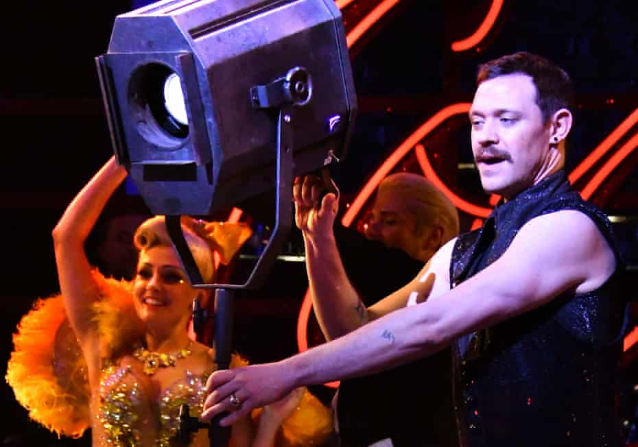 Will Young in Strictly Ballroom.