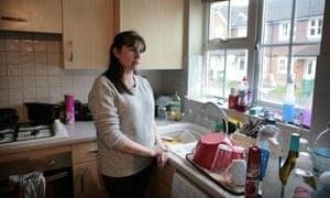 Ellen Gavigan in her kitchen